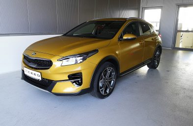 KIA X-Cee'd/FIRST/YELLOW/1.4 TGDI GPF/MT6/140/ bei Grünzweig Automobil GmbH in