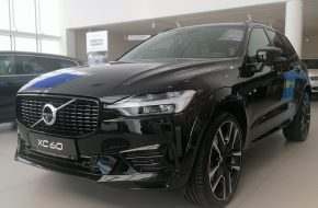 Volvo XC60 T6 AWD Recharge R-Design Expression Geartronic bei Grünzweig Automobil GmbH in